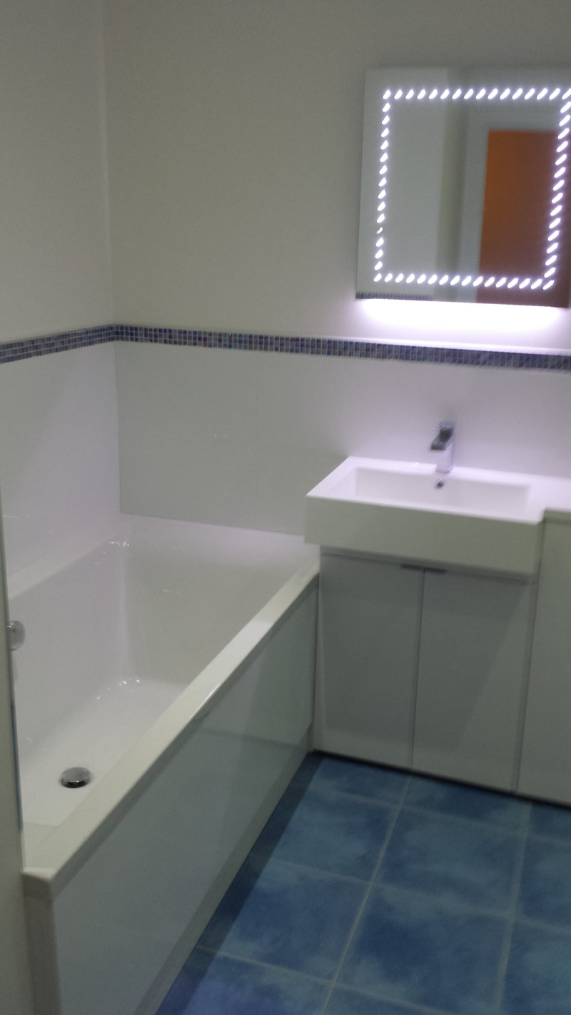 bathroom refitting